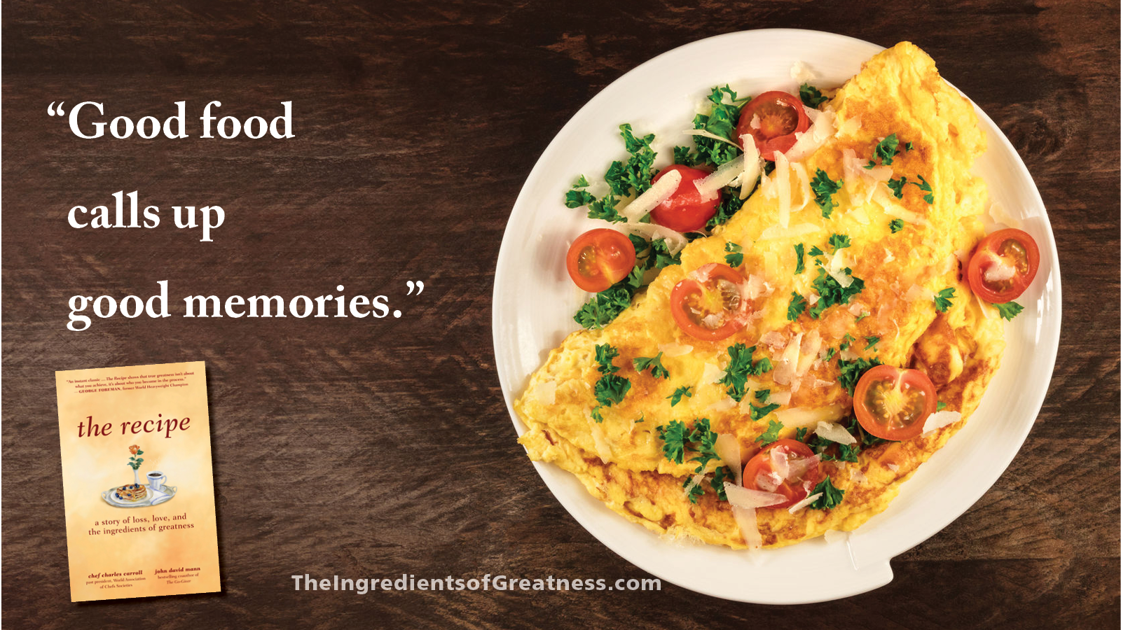 Shareable quotes the ingredients of greatness inspirational wisdom from the recipe to share with your friends forumfinder Gallery